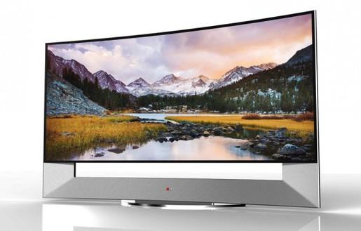 Sau smartphone, LG và Samsung đua TV màn hình cong